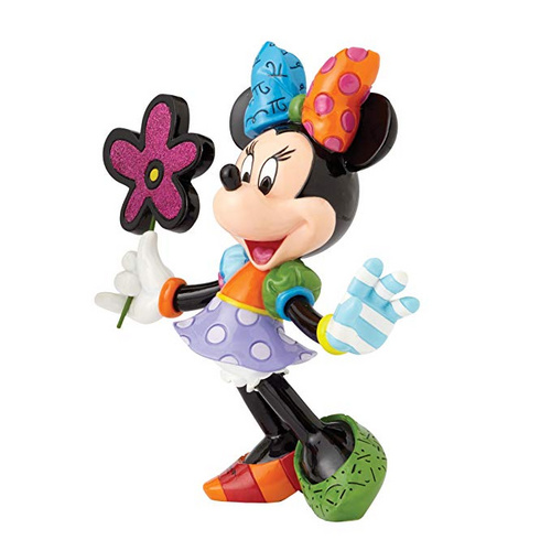 FIGURA MINNIE MOUSE WITH FLOWERS