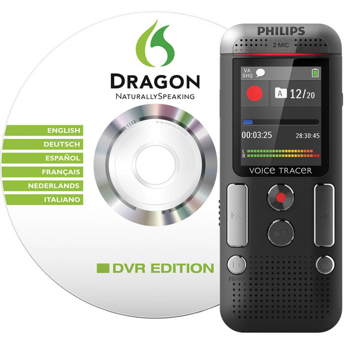 PHILIPS DVT2700/00 diktafon - Dragon