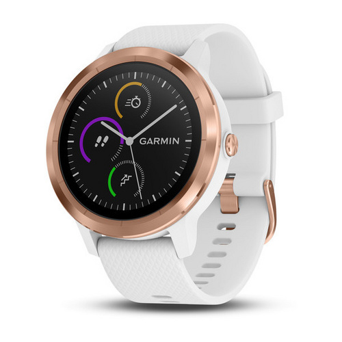 GARMIN vivoactive 3, white - rose gold (010-01769-08) ura