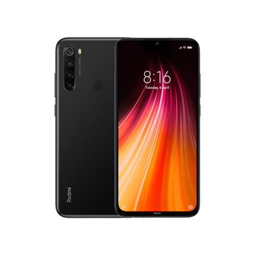 "Xiaomi Redmi NOTE 8 4/64GB ""space black"" telefon"
