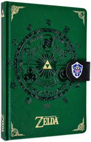 THE LEGEND OF ZELDA A5 PREMIUM BELEŽNICA PYRAMID