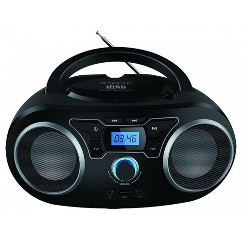 MANTA BBX004 Radio CD, MP3, USB, FM RADIO Player