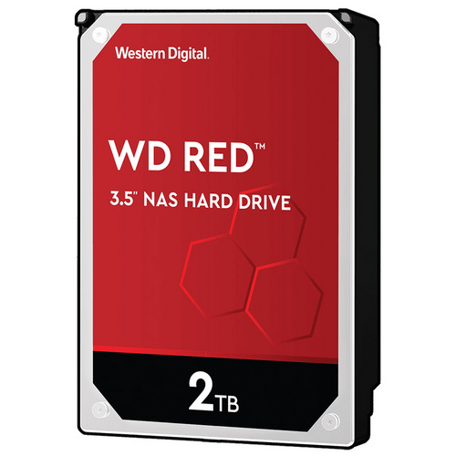 "WD Red NAS 2TB 3,5"" SATA3 256MB (WD20EFAX) trdi disk"
