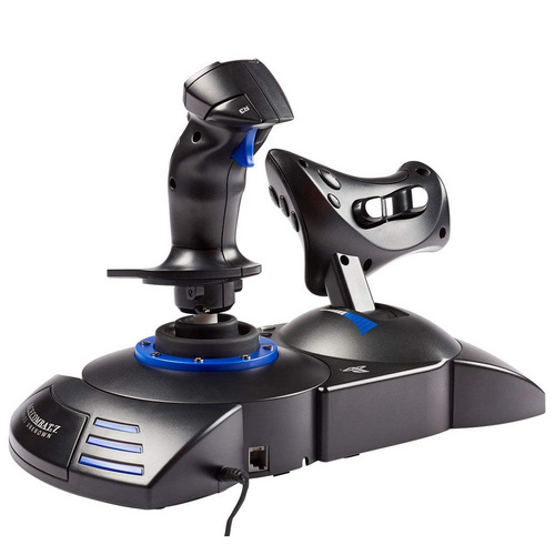 THRUSTMASTER T-FLIGHT HOTAS 4 ACE COMBAT 7 SKIES UNKNOWN JOYSTICK PC/PS4