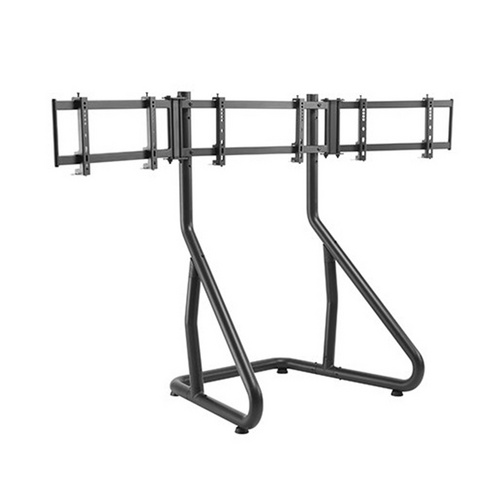 SPAWN RACING SIMULATOR TRIPLE MONITOR FLOOR STAND