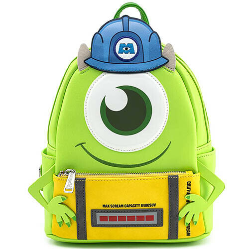 LOUNGEFLY LF PIXAR MONSTERS INC MIKE W SCARE CAN COSPLAY MINI NAHRBTNIK