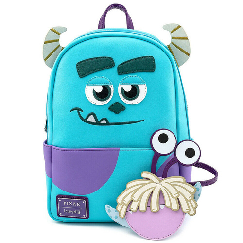 LOUNGEFLY LF PIXAR MONSTERS INC SULLY W BOO COIN POUCH MINI NAHRBTNIK