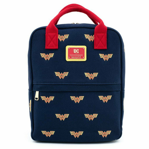 LOUNGEFLY LF DC WONDER WOMAN CANVAS ICON NAHRBTNIK