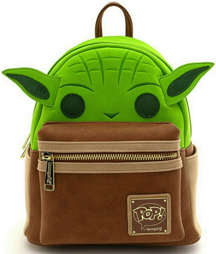 LOUNGEFLY POP BY LF ST YODA COSPLAY MINI PU NAHRBTNIK