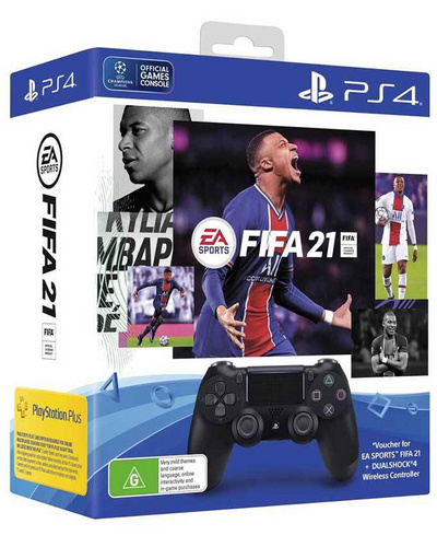 Sony DualShock 4 kontroler + FIFA 21 (Playstation 4)