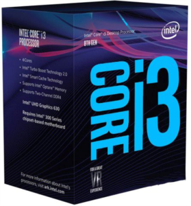 Intel Core i3 8350K BOX Coffee Lake  procesor