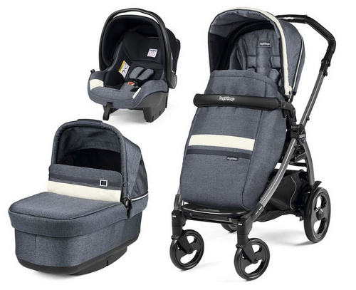 Peg Perego Book modular Pop Up Luxe Mirage - 51 Titania modularni sistem