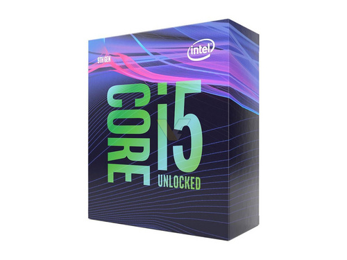 Intel Core i5 9600K BOX procesor, Coffee Lake
